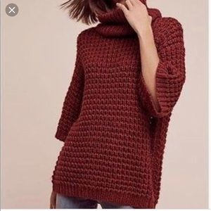 Plenty by Tracy Reese alpaca blend sweater red m